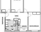 Lejlighed 120 m2 lejlighed på Koktvedvej