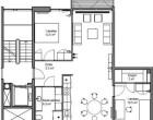 Lejlighed 3v. lejlighed i København SV på 93 kvm